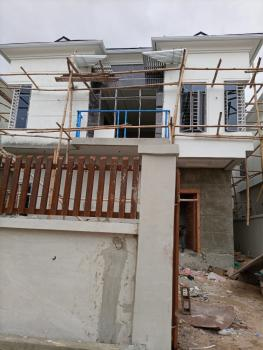 Newly Built 4 Bedroom Detached House Plus Bq., By 4th Roundabout, Ikate, Lekki, Lagos, Detached Duplex for Sale