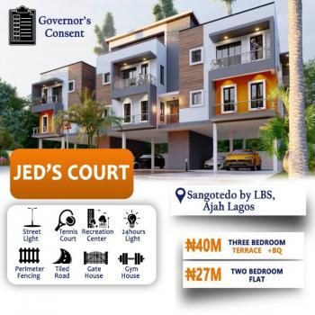 3 Bedrooms Terraced Duplex with Bq, Jeds Court By Lagos Business School, Sangotedo, Ajah, Lagos, Terraced Duplex for Sale