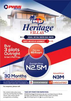 Land, Heritage Villas, Onitsha Owerri Road, Ogbaku, Mbaitoli, Imo, Mixed-use Land for Sale