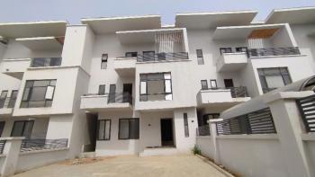 Luxurious Standard Newly Built 4 Bedroom Terraced Duplex with 1 Bq, Guzape District, Abuja, Terraced Duplex for Rent