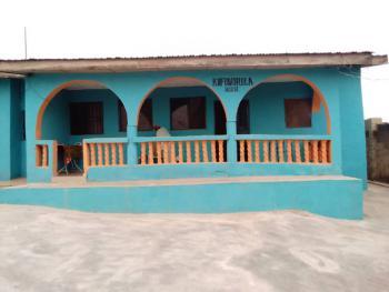 3 Bedroom with Bq at Olorunsogo Area Ibadan, Kola Amao Street, Oniyefun Thewill Bus Stop, Off Amuloko Road Olorunso, Ibadan, Oyo, Detached Bungalow for Sale