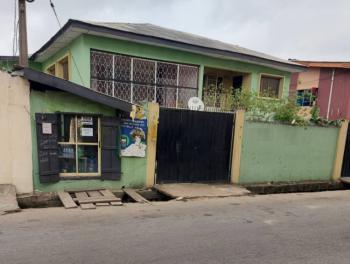 a Block of 2 Units of 4 Bedrooms Flat and 3 Bedrooms Bq on 600sqm, Ilupeju Estate, Ilupeju, Lagos, Block of Flats for Sale