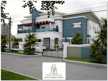 5 Bedroom Semi Detached Duplex with 3 Living Rooms and a Bq, Next Cash and Carry Behind Customs Senior Staff Quarters, Kado, Abuja, Semi-detached Duplex for Sale