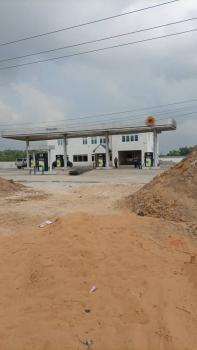 Strategic Station Built on 2 Plots of Land., Eleko, Ibeju Lekki, Lagos, Filling Station for Sale