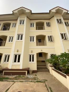 a Solidly Built Townhouse in a Serene Environment, Godab Estate, Life Camp, Abuja, Terraced Duplex for Sale