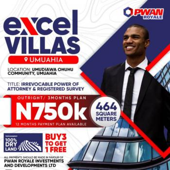 Dry Lands Directly Opposite Nnpc Mega Station, Umuahia Express Tower. Excel Villas Estate, Umuahia, Abia, Mixed-use Land for Sale
