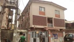 a Building of 4 Units 3 Bedroom Flat and 4 Bedroom Duplex, Apena Street, Ojuelegba, Surulere, Lagos, Block of Flats for Sale