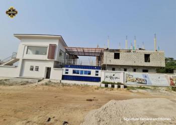Luxury 2 Bedroom Apartment with Bq, Sunday Ejiofor Street, Abijo, Lekki, Lagos, Semi-detached Bungalow for Sale