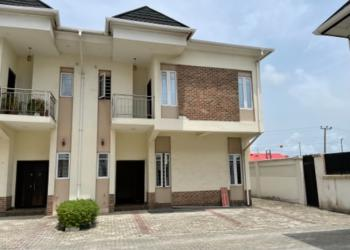Beautiful 4 Bedroom Semi Detached Duplex Woth, Ajah, Lagos, Semi-detached Duplex for Sale