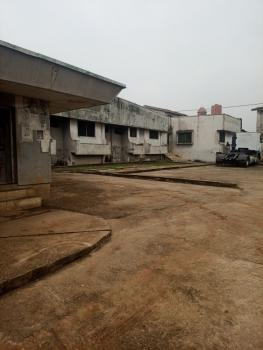 Solidly Built Mansion on 3 Plots, Off Power Line Road, Ejigbo, Lagos, Detached Bungalow for Sale