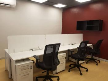 5 - 9 Persons Furnished & Serviced Office Spaces & Workstation, Idowu Martins Street, Victoria Island (vi), Lagos, Office Space for Rent