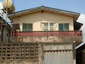 Storey Building of 1 No 3 Bedrooms Flat and  5 Nos. 2 Bedrooms Flat, 54, Adekuroye Street, Ejigbo, Lagos, Block of Flats for Sale