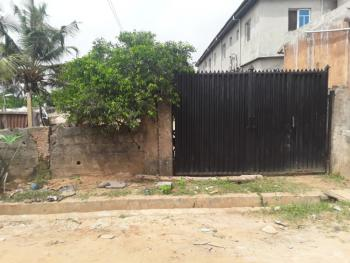 a Half Plot of Land with a Structure in a Serene Estate Environment, Iyewo Estate, Araromi, Akesan, Off Lasu - Isheri Expressway, Igando, Alimosho, Lagos, Land for Sale