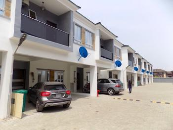 New House. Clean 4 Bedrooms Terrace  + Swimming Pool, 24 Hours Light, Ikate Elegushi, Lekki, Lagos, Terraced Duplex for Sale