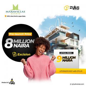 Prime Plot of Estate Land in Good Location, Maravillas Estate, Opic, Isheri North, Lagos, Residential Land for Sale