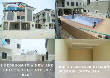2 Bedroom in a New and Beautiful Estate, Ikota Gra, Ikota, Lekki, Lagos, Flat for Rent