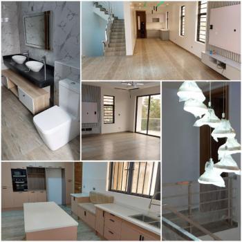 New Large Luxury 4 Bedrooms Townhouse in Well Serviced Premises, Off Oba Akinjobi Street, Ikeja Gra, Ikeja, Lagos, Terraced Duplex for Sale