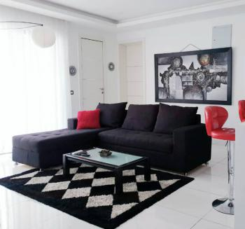 Luxury 2 Bedrooms Apartment with Gym and Roof Top Lounge, Off Kusenla Road, Ikate Elegushi, Lekki, Lagos, Flat Short Let