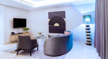 Lovely Three Bedrooms Flat with Pool and Gym, Ahmadu Bello Way, Victoria Island, Eko Atlantic City, Lagos, Flat Short Let