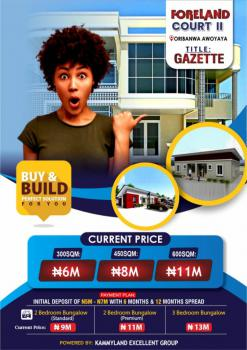 Affordable 3 Bedroom Fully Finished Bungalow, Foreland Court 2, Close to Mayfair Gardens, Awoyaya, Ibeju Lekki, Lagos, Semi-detached Bungalow for Sale