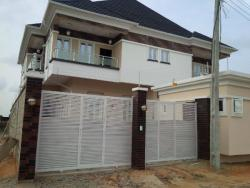 Luxury Brand New 4  Bedroom Semi-detached House With Boys Quarter, Chevy View Estate, Lekki, Lagos, 4 bedroom, 5 toilets, 5 baths Semi-detached Duplex for Sale