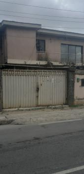 a Solid 5 Bedroom Fully Detached Duplex & 2 Unit of 3 Bedroom Flat, Itolo Street, Off Eric Moore, Surulere, Lagos, Detached Duplex for Sale