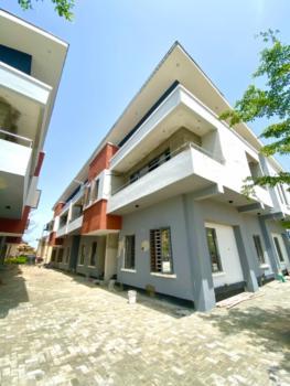 Four Bedrooms Semi Detached with Bq, Lafiaji, Lekki, Lagos, Semi-detached Duplex for Sale
