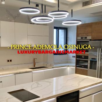 Fresh & Furnished 5 Bedroom Semi Detached Terrace + Private Elevator, Banana Island Estate, Ikoyi, Lagos, Semi-detached Duplex for Sale