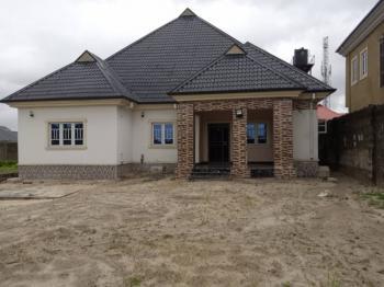 Finished 5 Bedroom Detached Bungalow Plus Empty Plot, School to Land, Iriebe, After Eleme Junction, Port Harcourt, Rivers, Detached Bungalow for Sale