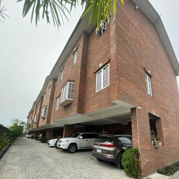 Fully Serviced 4 Bedrooms Terraced House, Ikate, Lekki, Lagos, Terraced Duplex for Sale