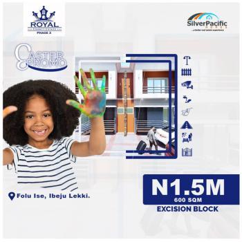 Easter Promo, Royal County Estate, Folu Ise, Ibeju Lekki, Lagos, Mixed-use Land for Sale
