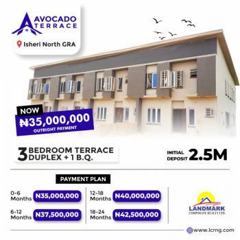 3 Bedrooms Terraced Duplex in Good Location, Avocado Terraces, Queens Garden Estate, Opic, Isheri North, Lagos, Terraced Duplex for Sale