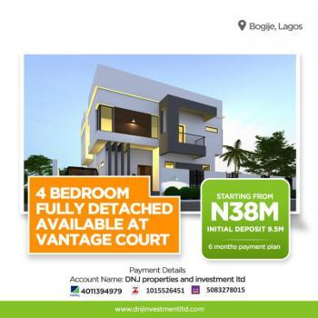 Fully Detached Duplex in Nice Location, Vantage Court, Inside Richland Gardens, Bogije, Ibeju Lekki, Lagos, Detached Duplex for Sale