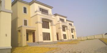 Tastefully Finished and Serviced 4 Bedrooms Detached House with Bq, Close to Nnpc, Guzape District, Abuja, Detached Duplex for Rent