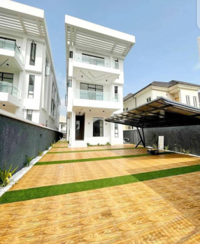 Beautifully Crafted 5 Bedrooms Duplex + 2 Room Bq, Cinema, Lekki Phase 1, Lekki, Lagos, Detached Duplex for Rent