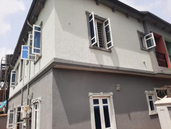 Clean Upstairs 2 Bedroom Flat with Private Staircase, Peninsula Garden Estate, Sangotedo, Ajah, Lagos, Flat for Rent