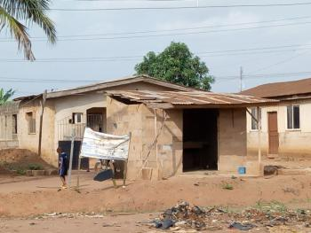 Plot of Land with Two Structures, Legacy Road, Ayobo, Lagos, Detached Bungalow for Sale