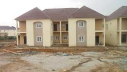 Newly Built  4bedrooms Terrace Duplex with Extra Space for Bq and Two Sitting Rooms. 98% Completed on The Outside and 80% Complete, The Valleys Estate, Asokoro District, Abuja, Terraced Duplex for Sale