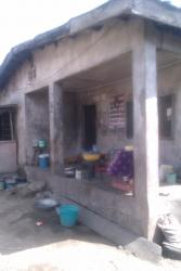 a Bungalow Building Conprises 8 Rooms, Aka Road, Alaba, Ojo, Lagos, Detached Bungalow for Sale