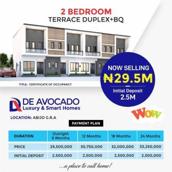 2 Bedroom Terrace Duplex + Bq with 2 Year Plan, Abijo, Lekki, Lagos, Terraced Duplex for Sale