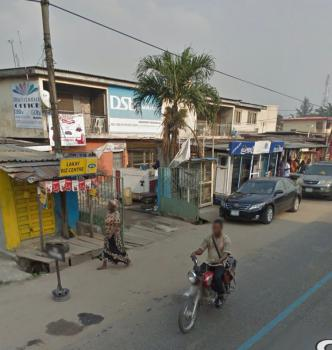 a Highly Commercialized Property on a Busy Road, St Finbars College Road, Akoka, Yaba, Lagos, Mixed-use Land for Sale