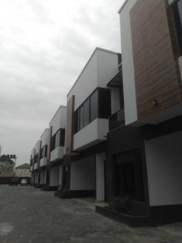 Newly Built 4 Bedroom  Semi-detached Duplex with Bq, Osapa London, Osapa, Lekki, Lagos, Terraced Duplex for Sale