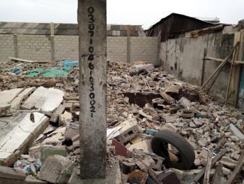 a Corner Piece Plot of Land, Off Ijesha Road, By Ogunlana Street, Ijesha, Surulere, Lagos, Mixed-use Land for Sale