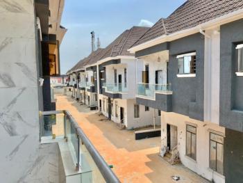 Tastfully Finished & Luxury 4 Bedroom Semi Detached Duplex with a Room Bq, Behind Mega Chicken, Ikota, Lekki, Lagos, Semi-detached Duplex for Sale