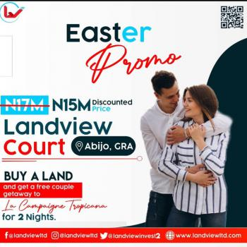 Most Classic & Affordable Estate in Serene Location, Landview Court Behind Chalcedony School  Abijo Gra, Abijo, Lekki, Lagos, Mixed-use Land for Sale