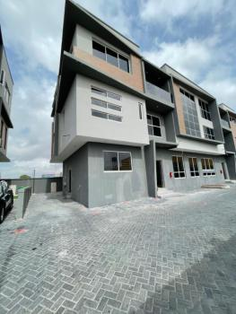 5 Bedrooms Fully Serviced Semi-detached Duplex with a Room Bq, Ikate, Lekki, Lagos, Semi-detached Duplex for Sale