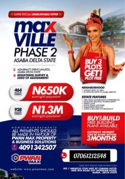 Max Ville Estate, Oshimili South, Delta, Mixed-use Land for Sale