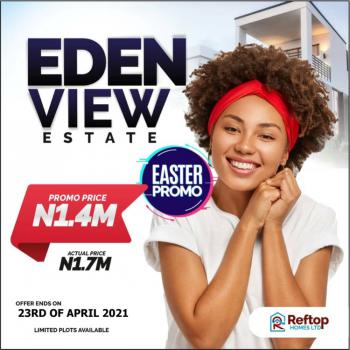 Affordable Land, Eden View Estate  a Minute Drive From La Campaign Tropicana, Folu Ise, Ibeju Lekki, Lagos, Residential Land for Sale