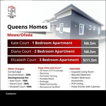 Luxury 3 Bedroom Apartment with Excellent Facilities at Queen Garden, Off, Nigeria Breweries, Mowe Ofada, Ogun, Detached Bungalow for Sale