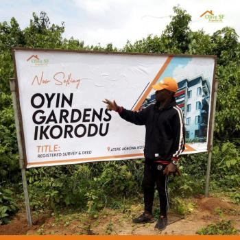 Land, Oyin Garden, Agbowa, Ikorodu, Lagos, Residential Land for Sale